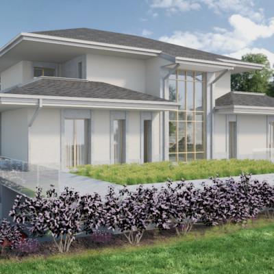 Nuova Villa a Casatenovo - Lc-